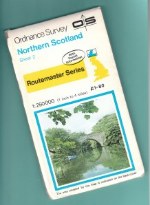 Route planning, 1984 style.