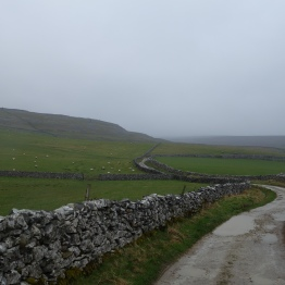 An easy track up Ingleborough from Ingleton