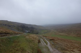Somewhere up in all that is Ingleborough