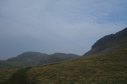 Looking back to Attermire Scar