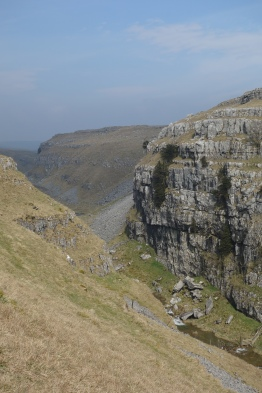 Above Gordale Scar towards Malham Tarn