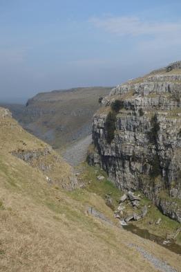 Above Gordale Scar towards Malham Tarn