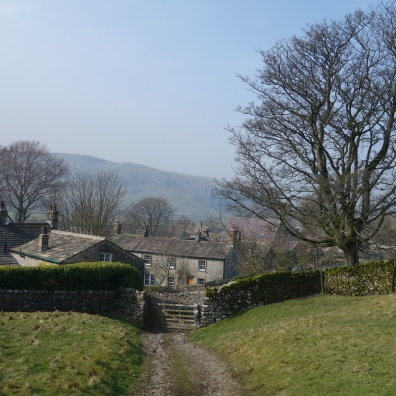 Leaving Coniston for one last gentle climb over to Grassington