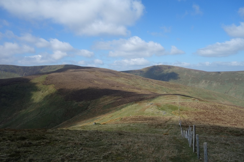 Between Foel Wen and Tomle
