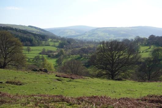 Glorious sunny afternoon between Cymwyd & Llandrillo