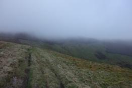 Heading back up to Bwlch Maen Gwynedd