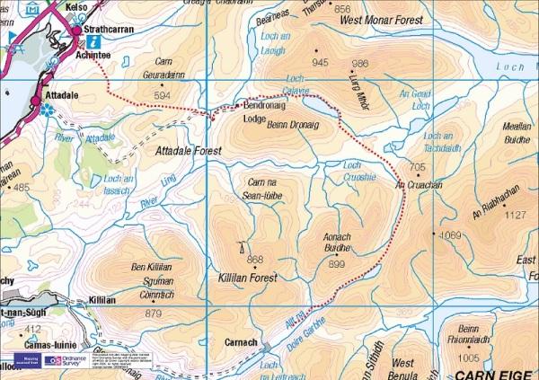 Route - Day 1 : 29 km
