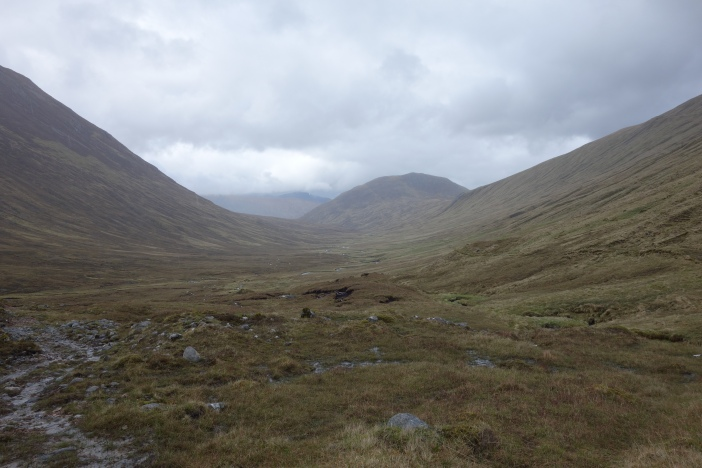 Somehow from the profile of Allt Coire nan Each I knew it was going to be a quagmire. It didn't disappoint.