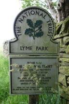 Entering Lyme Park