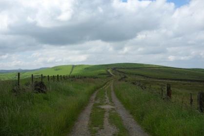 Towards Sponds Hill