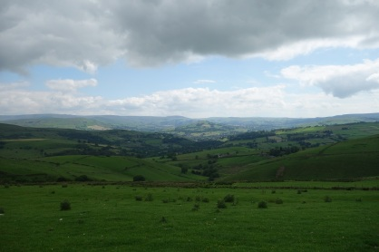 East towards Derbyshire