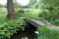 Packhorse Bridge over Harrop Brook