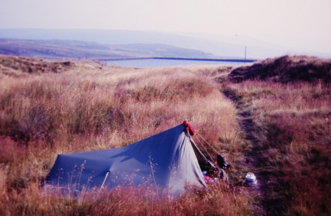 Daletrekker Sombrero - my first backpacking tent 34 years ago
