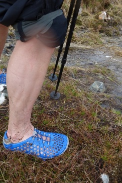Barefooting in Gleann Gaorsaic