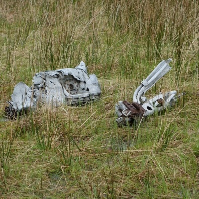 Remain of a Vickers Wellinton ?, crashed 1942