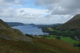Ullswater and Howtown from where I parked up in Martindale