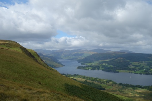 Ullswater from Arthur's Pike