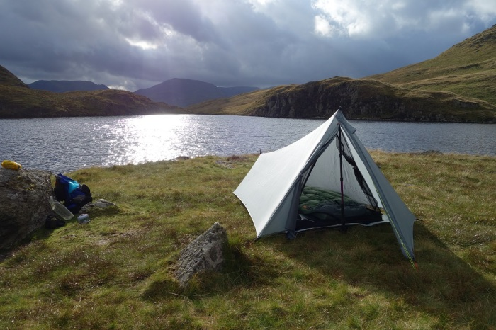 Camped at Angle Tarn
