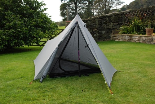 Trekkertent Stealth with single front pole