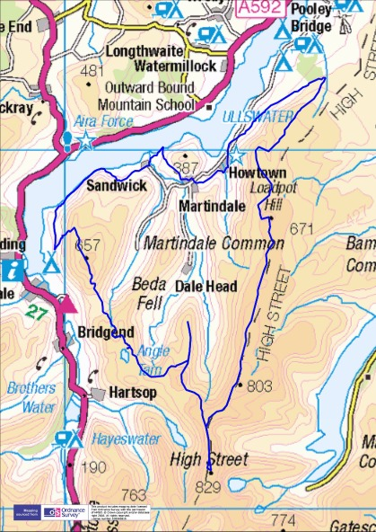 2 days around Martindale - 28 miles