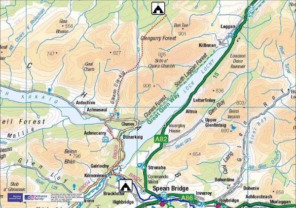 Route Day 4  :  24 km