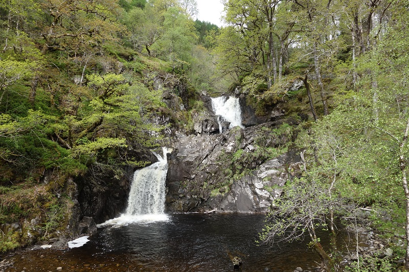 Waterfalls at Eas Chai-aig