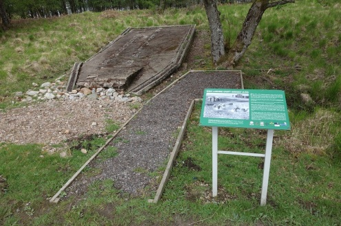 WW2 Landing Craft training site at Loch Lochy