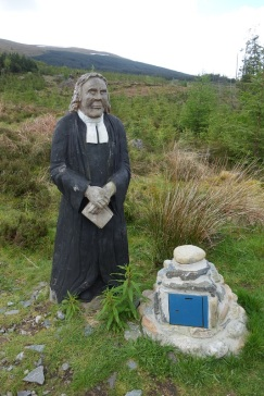 The Wee Minister at the foot of the Lairig Leacach