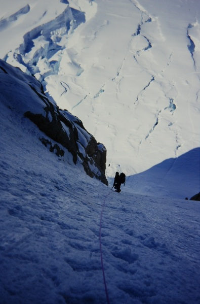 On the West Rib of Denali
