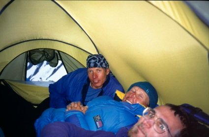 Camp 1 on Khan Tengri