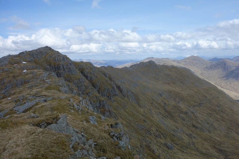 Traversing the Moidart Corbetts on Day 1
