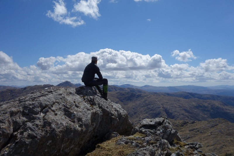 Meall Mor, on the ridge between Cona Glen and Glen Scaddle