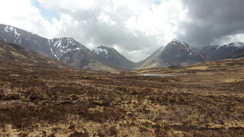 Following the navies route from Blackwater Reservoir to Kinghouse in Glen Coe