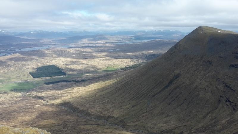 Rannoch Moor from Beinn an Dothaigh, 1004 m