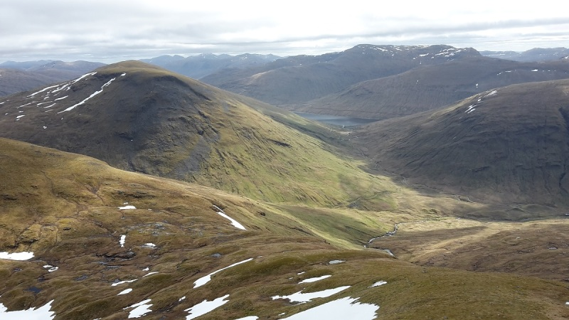 Loch Lyon from the Bridge of Orchy munros