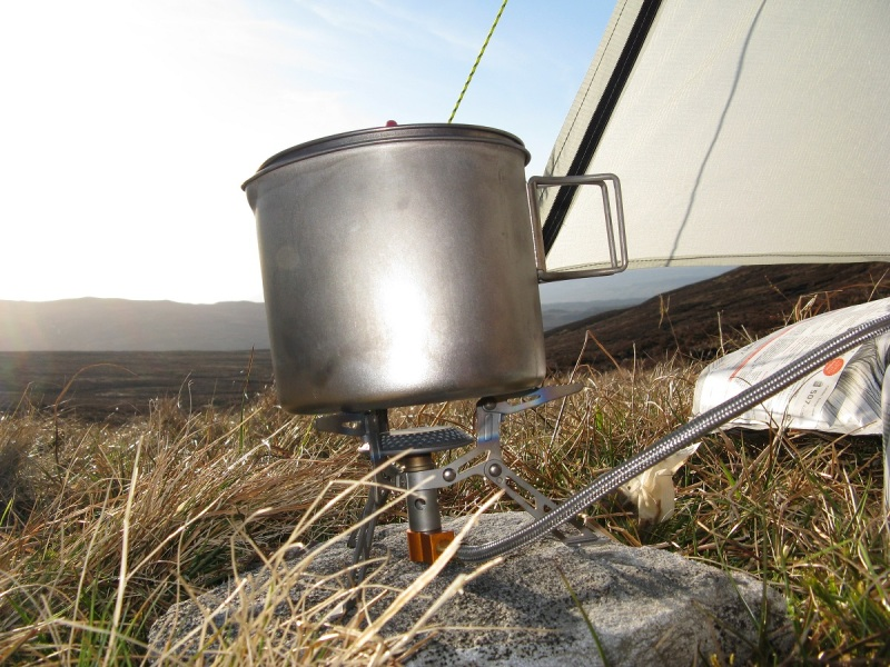 Camped below Carn Gorm