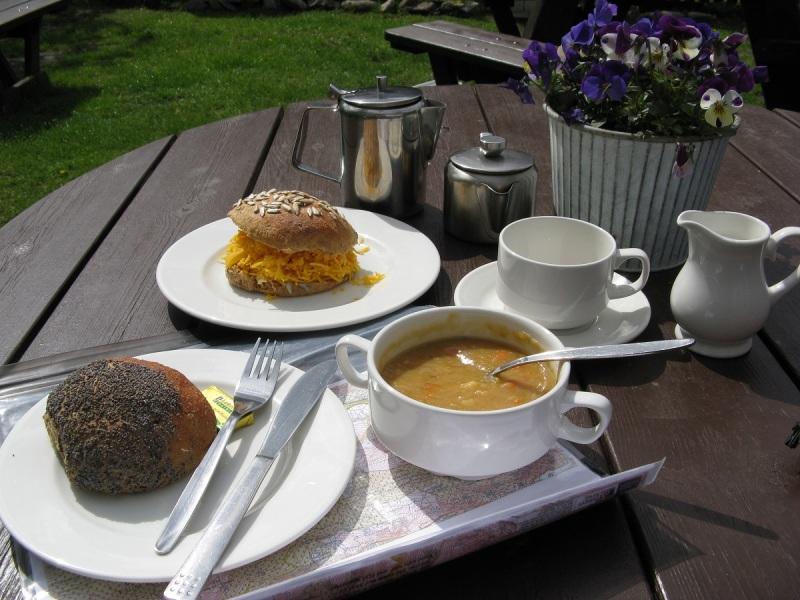 Lunch at Blair Athol Watermill Tea Rooms