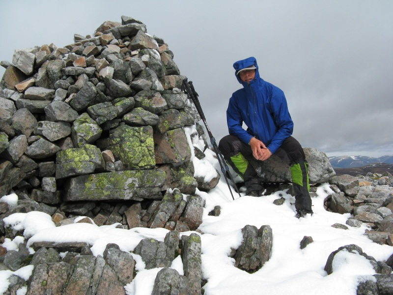 Top of Carn an Righ, 1029 m