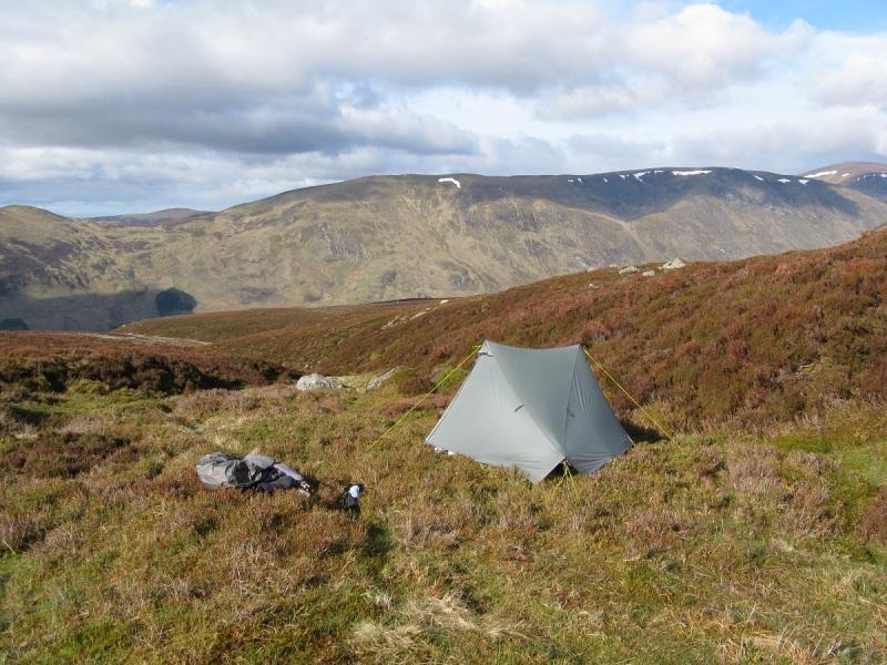 Camped at Loch Brandy