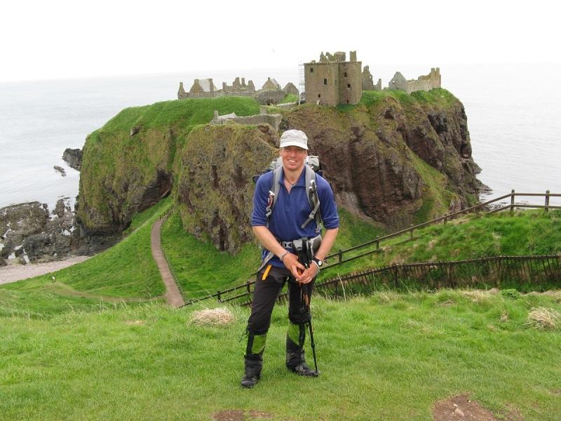 Journeys End, Dunnottar Castle on the East Coast