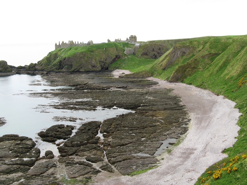 Dunnottar Castle across Castle Haven