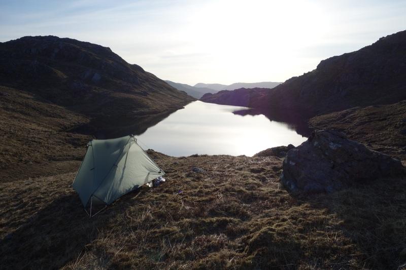 Evening at Lochan nan Sleubhaich
