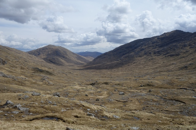 Looking back down Cona Glen