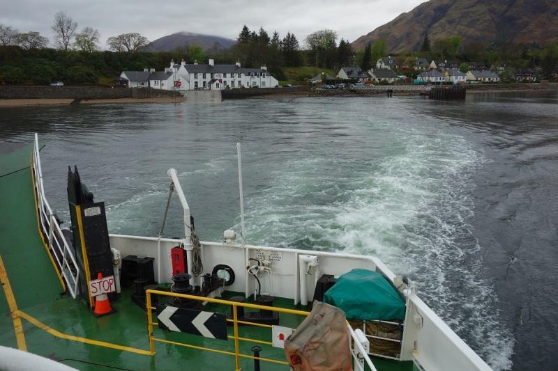 Taking the Corran Ferry