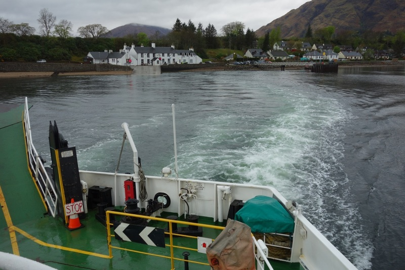 Taking the Corran Ferry