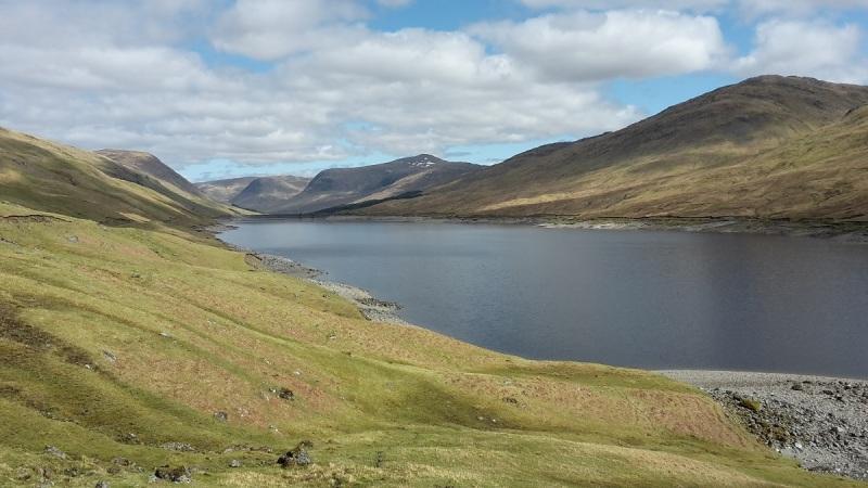 East along Loch Lyon