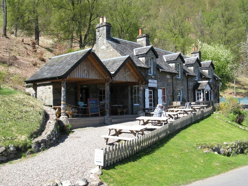 Glen Lyon Tea Rooms and Post Office, Bridge of Balgie