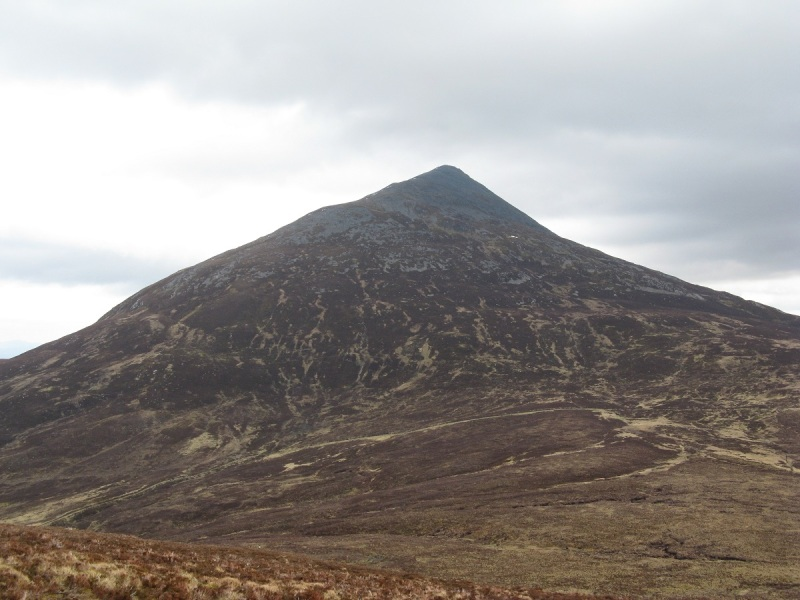 Not the normal way up Schiehallion...steep and loose.
