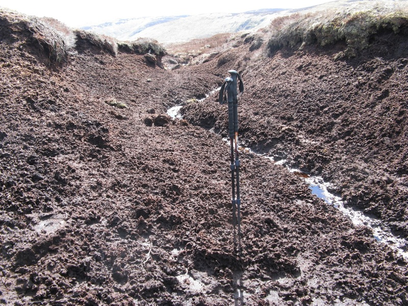 Miles and miles of peat hags