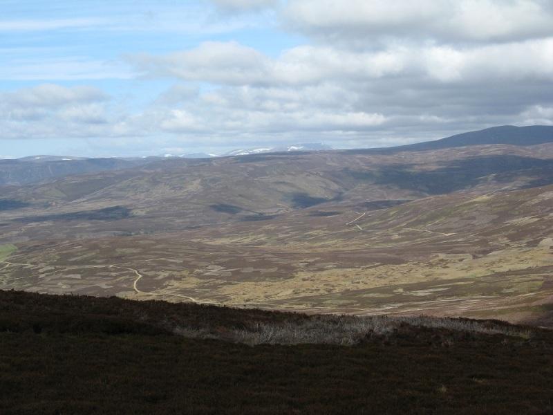 Looking back west from Mount Een